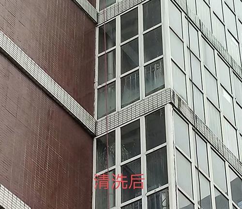 南充师范学院外墙清洗
