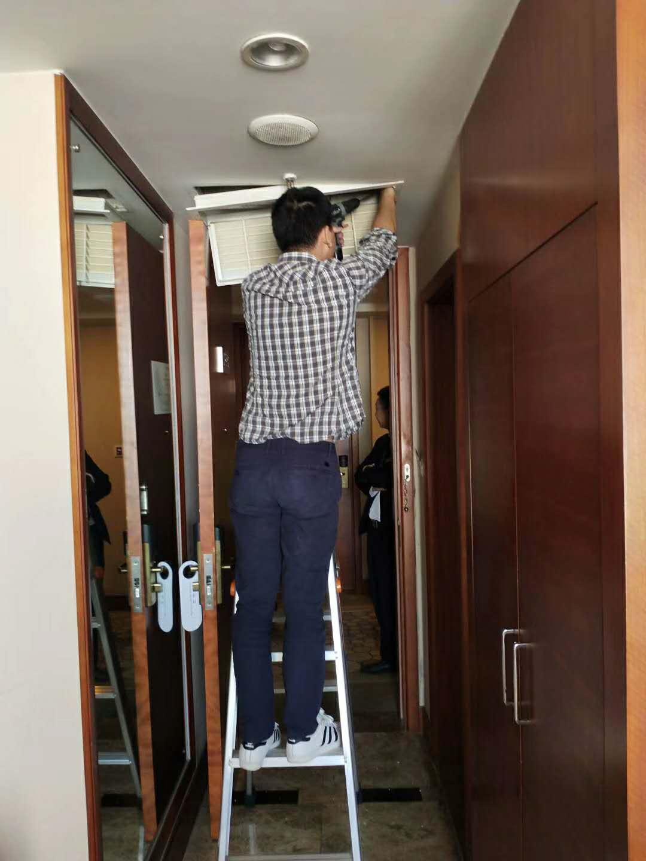 酒店中央空调清洗